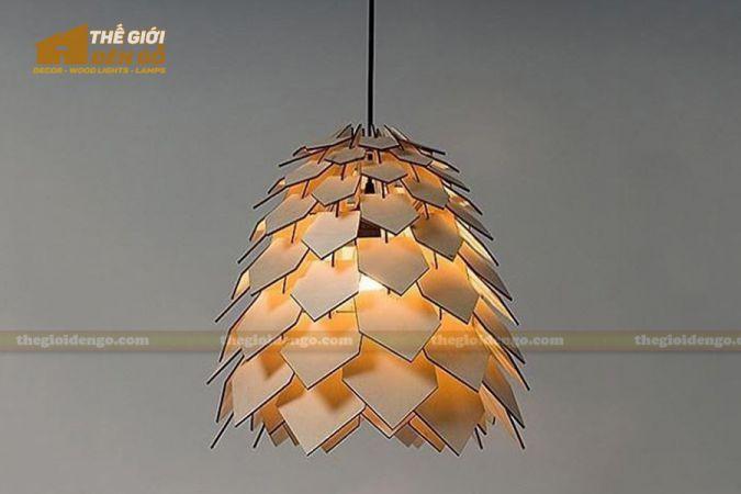 Thế Giới Đèn Gỗ - Đèn gỗ trang trí dg270