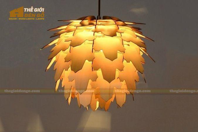 Thế Giới Đèn Gỗ - Đèn gỗ trang trí dg271