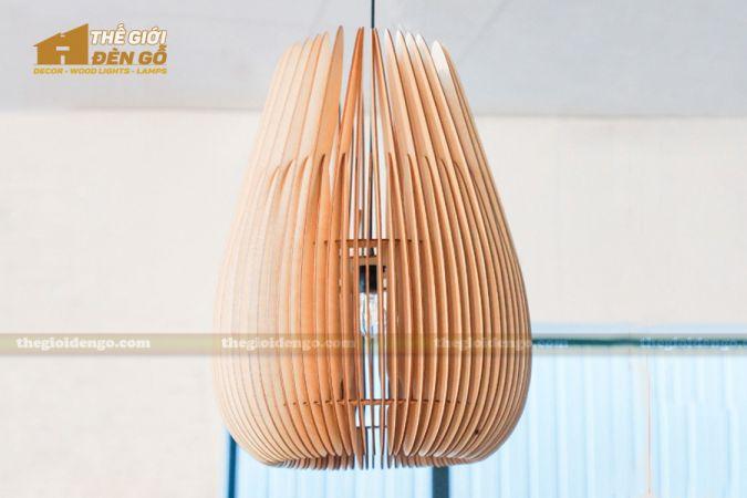 Thế Giới Đèn Gỗ - Đèn gỗ trang trí dg273-1