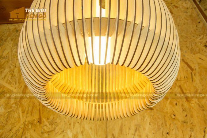 Thế Giới Đèn Gỗ - Đèn gỗ trang trí dg273-2