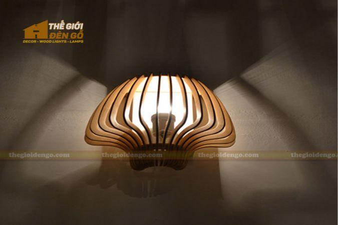 Thế giới đèn gỗ - Đèn gỗ trang trí búp nấm
