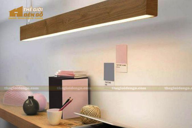 Thế giới đèn gỗ - Hộp đèn gỗ DG115 - 1