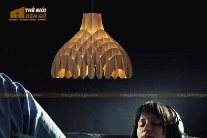 Thế Giới Đèn Gỗ - Đèn gỗ trang trí dg274-1
