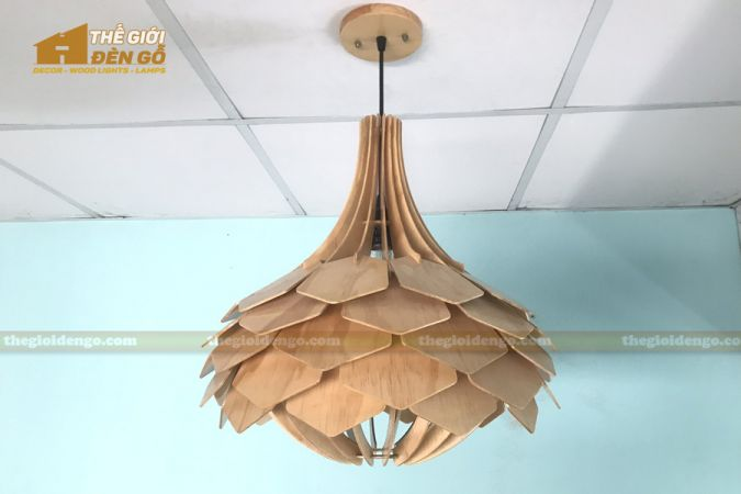 Thế Giới Đèn Gỗ - Đèn gỗ trang trí dg275-1