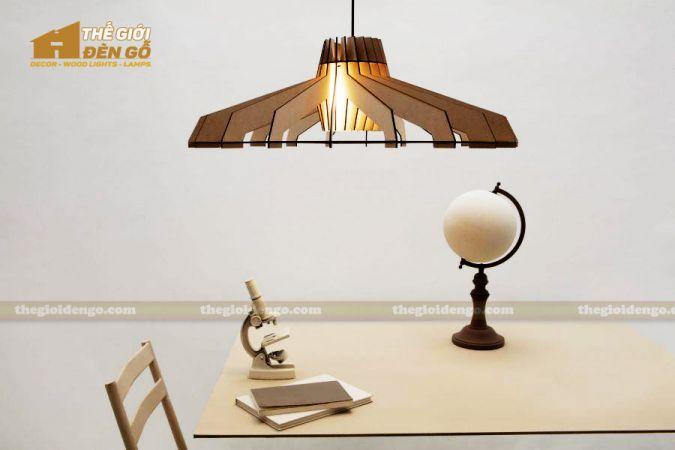 Thế Giới Đèn Gỗ - Đèn gỗ trang trí dg276-2