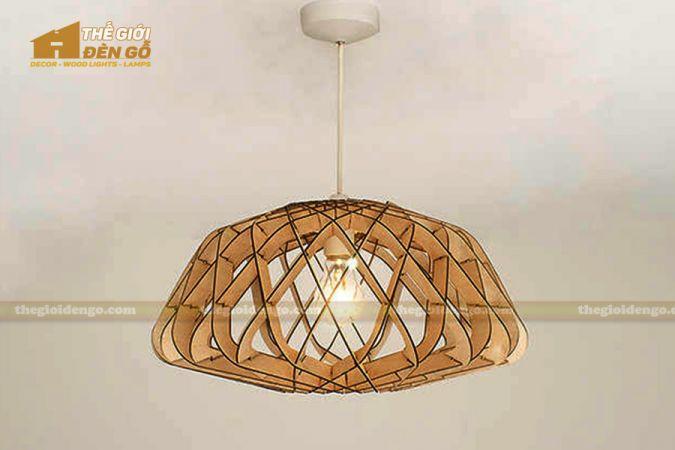 Thế Giới Đèn Gỗ - Đèn gỗ trang trí DG286-1