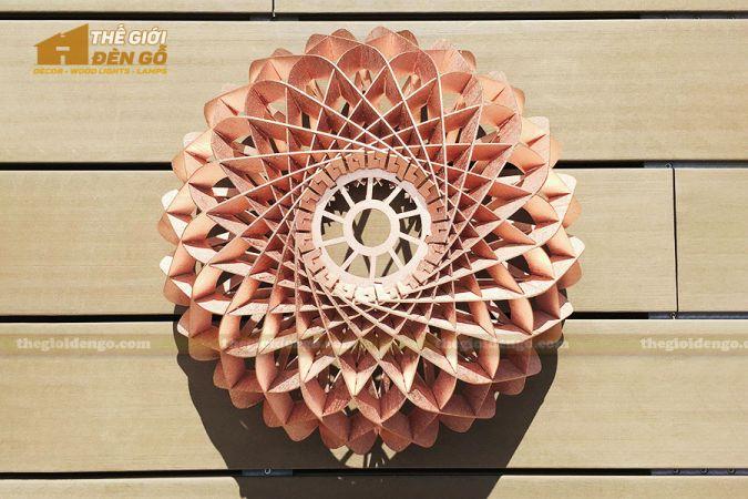 Thế Giới Đèn Gỗ - Đèn gỗ trang trí DG286-2