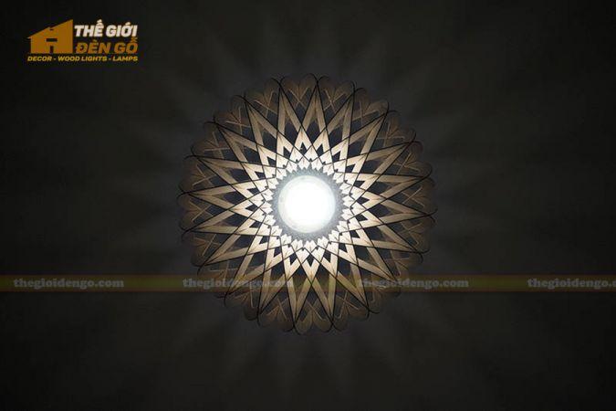 Thế Giới Đèn Gỗ - Đèn gỗ trang trí DG286-4
