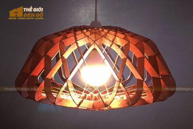 Thế Giới Đèn Gỗ - Đèn gỗ trang trí DG286