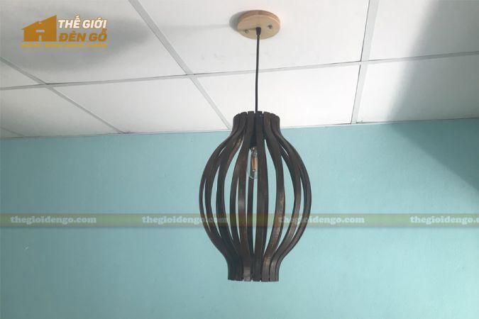 Thế Giới Đèn Gỗ - Đèn gỗ trang trí DG288-1