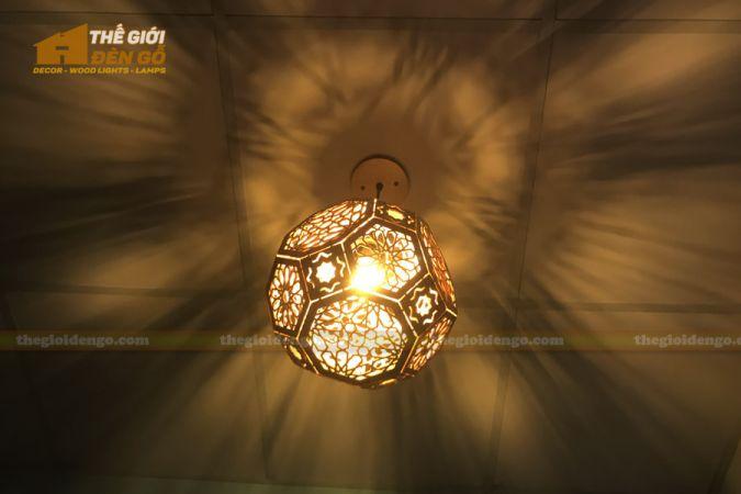 Thế Giới Đèn Gỗ - Đèn gỗ trang trí DG289-1