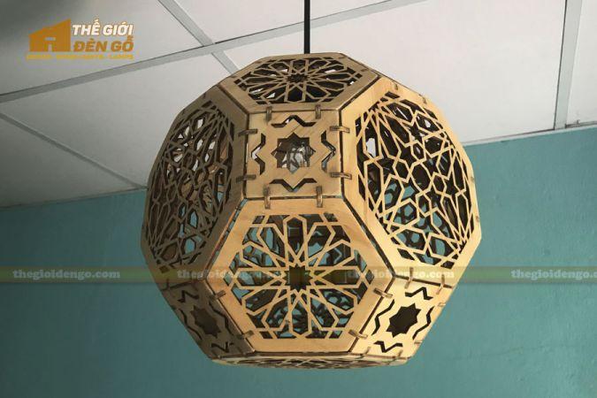Thế Giới Đèn Gỗ - Đèn gỗ trang trí DG289-5