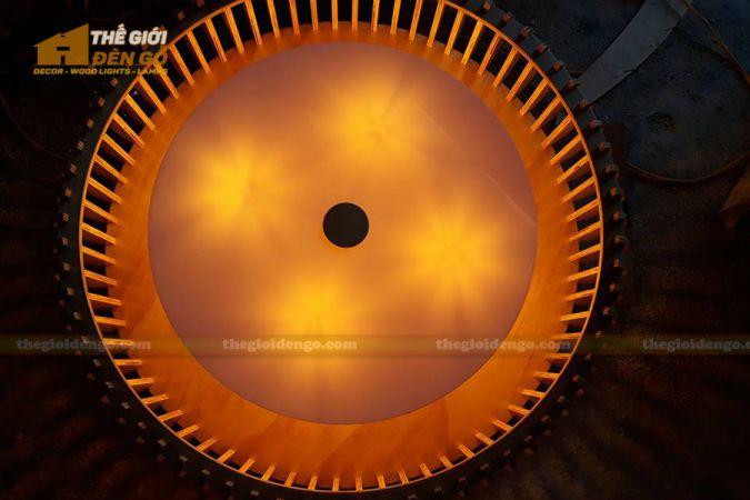 Thế Giới Đèn Gỗ - Đèn gỗ trang trí DG290-1