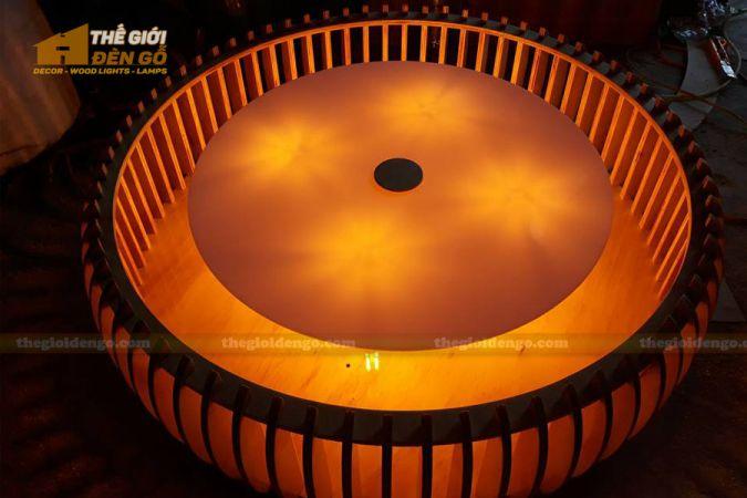 Thế Giới Đèn Gỗ - Đèn gỗ trang trí DG290