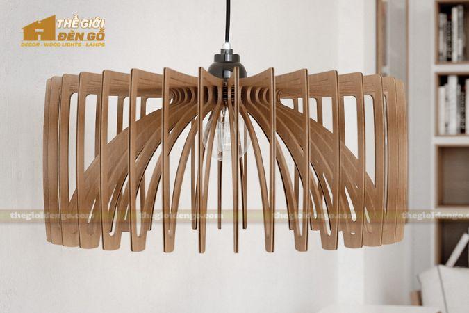 Thế Giới Đèn Gỗ - Đèn gỗ trang trí DG291