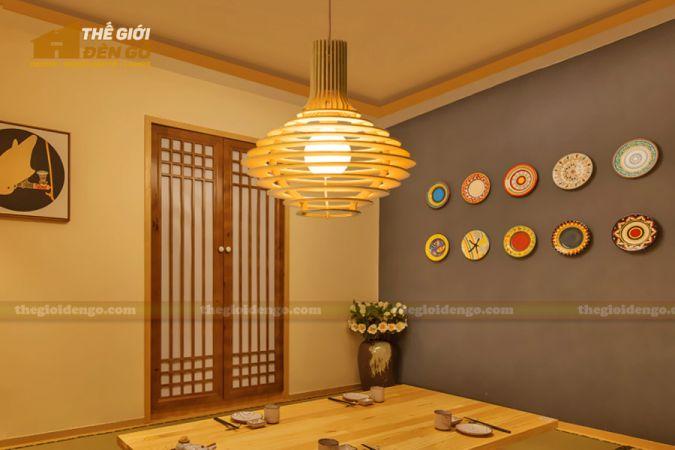 Thế Giới Đèn Gỗ - Đèn gỗ trang trí DG292 - 1