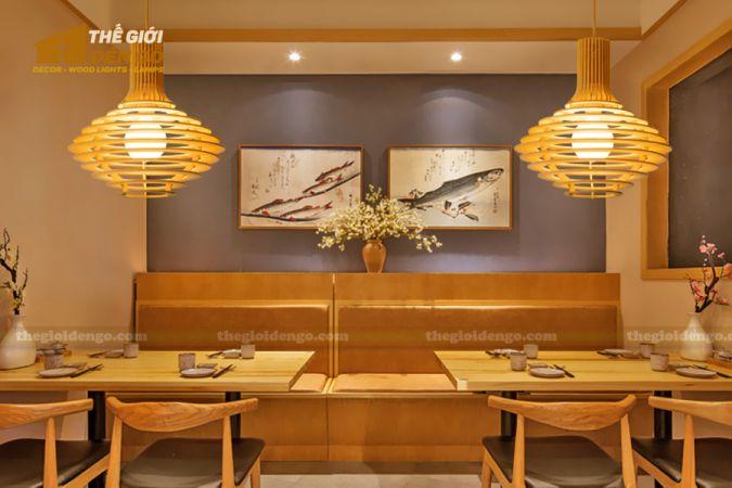 Thế Giới Đèn Gỗ - Đèn gỗ trang trí DG292 - 2