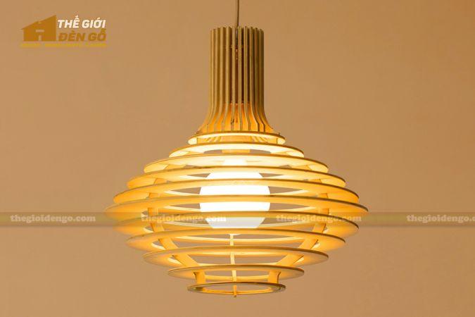 Thế Giới Đèn Gỗ - Đèn gỗ trang trí DG292