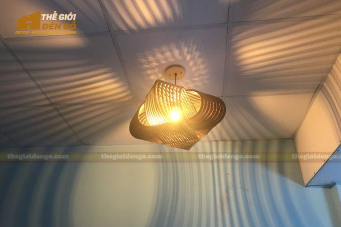 Thế Giới Đèn Gỗ - Đèn gỗ trang trí DG293-1