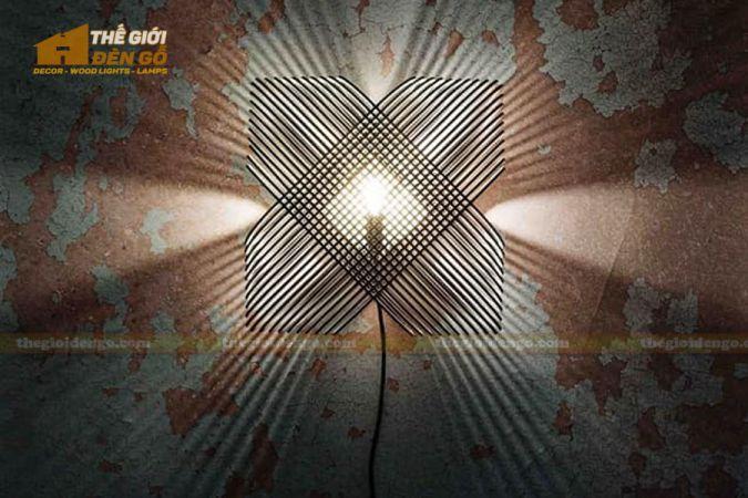 Thế Giới Đèn Gỗ - Đèn gỗ trang trí DG293-7