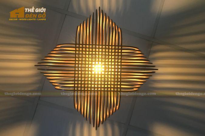 Thế Giới Đèn Gỗ - Đèn gỗ trang trí DG293