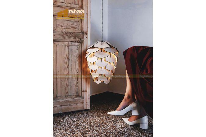 Thế Giới Đèn Gỗ - Đèn gỗ trang trí DG294-3