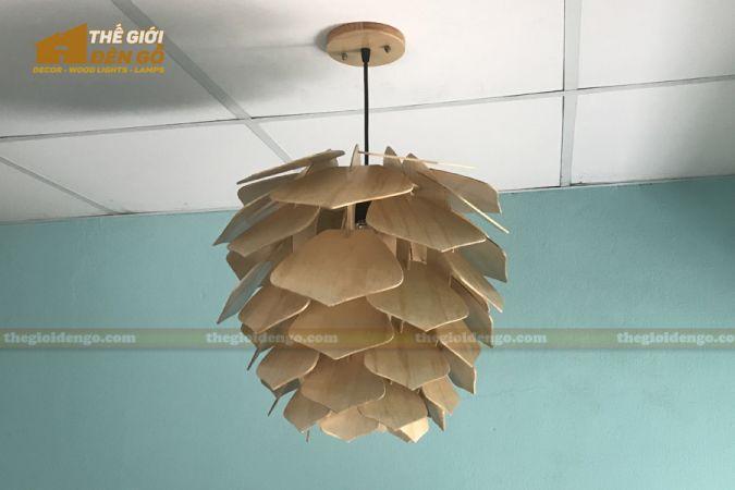 Thế Giới Đèn Gỗ - Đèn gỗ trang trí DG294-5