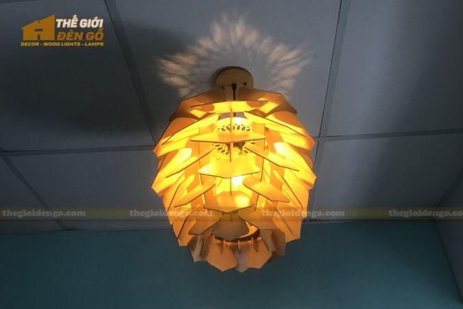 Thế Giới Đèn Gỗ - Đèn gỗ trang trí DG294-6