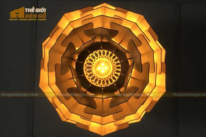 Thế Giới Đèn Gỗ - Đèn gỗ trang trí DG294-8