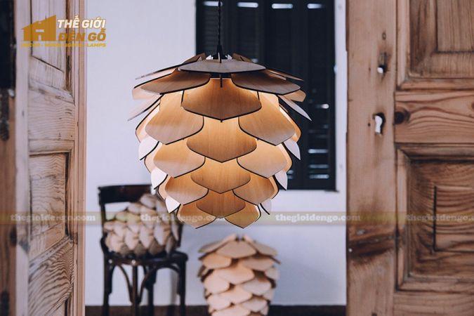 Thế Giới Đèn Gỗ - Đèn gỗ trang trí dg294