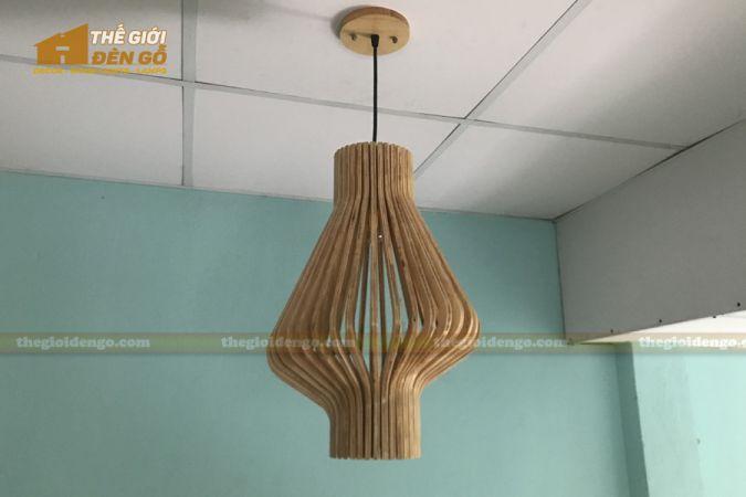 Thế Giới Đèn Gỗ - Đèn gỗ trang trí DG295-1