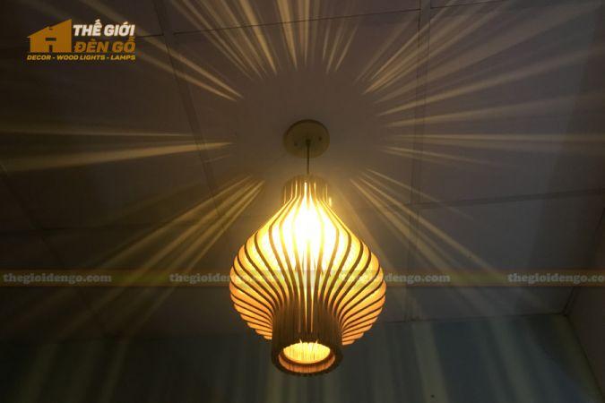 Thế Giới Đèn Gỗ - Đèn gỗ trang trí DG295-2