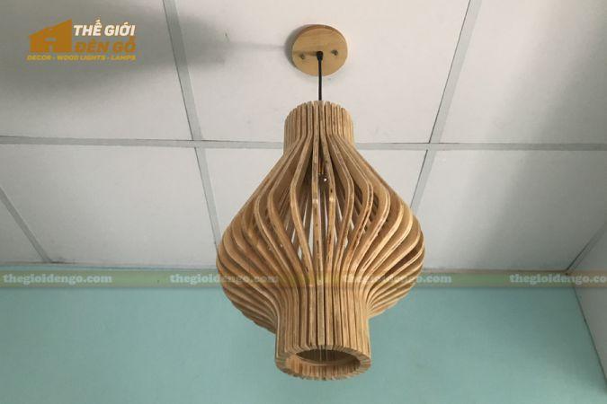 Thế Giới Đèn Gỗ - Đèn gỗ trang trí DG295-3