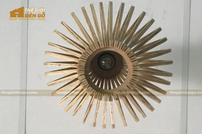 Thế Giới Đèn Gỗ - Đèn gỗ trang trí DG295-5