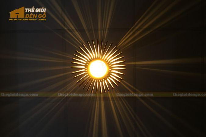 Thế Giới Đèn Gỗ - Đèn gỗ trang trí DG295-6