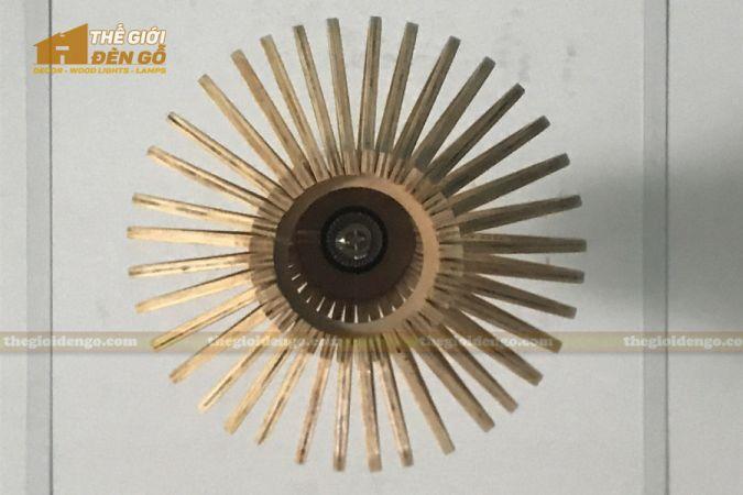 Thế Giới Đèn Gỗ - Đèn gỗ trang trí DG295-7