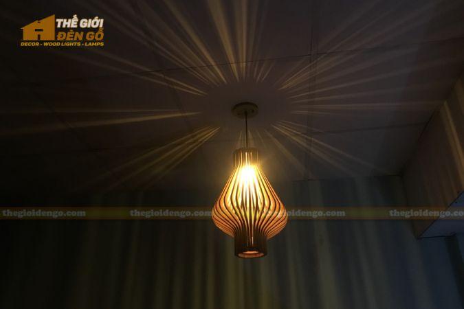 Thế Giới Đèn Gỗ - Đèn gỗ trang trí DG295-8