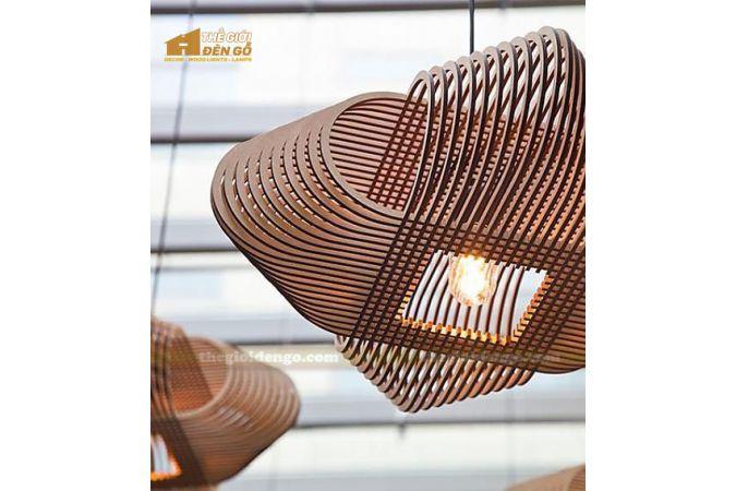 Thế Giới Đèn Gỗ - Đèn gỗ trang trí DG280-1