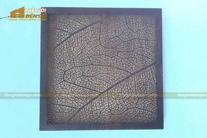 Thế Giới Đèn Gỗ - Đèn gỗ trang trí treo tường DGW041 - 3