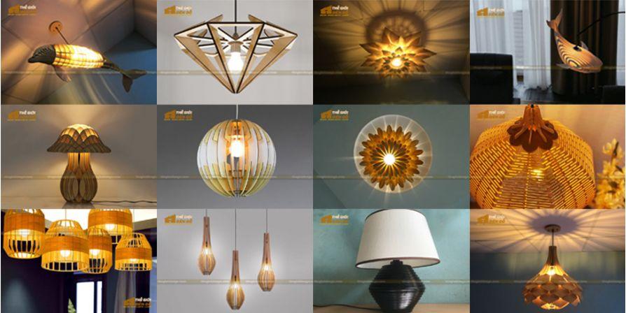 Thế Giới Đèn Gỗ - 15 mẫu đèn gỗ trang trí hot nhất đầu năm 2020