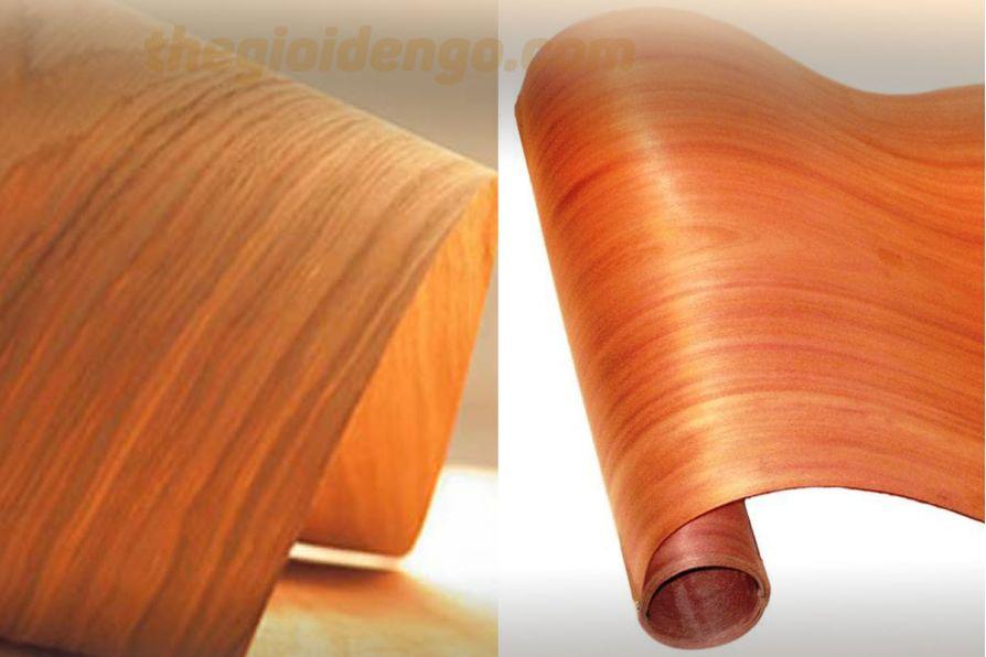 Thế giới đèn gỗ - Gỗ veneer là gỗ gì?