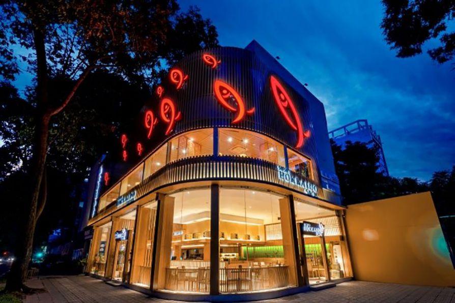 Thế Giới Đèn Gỗ - Dự án nhà hàng Shushi Hokkaido Sachi Quận 3