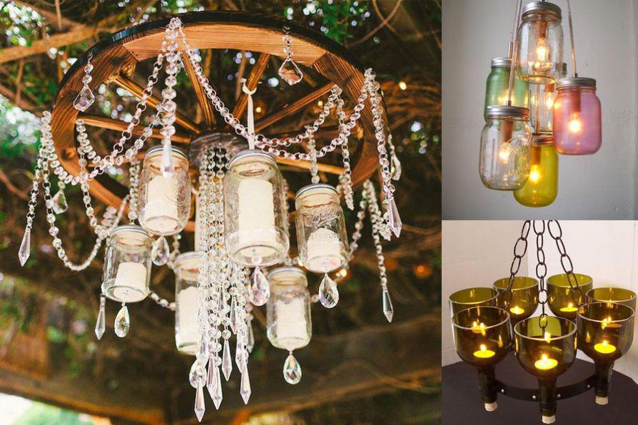 Thế Giới Đèn Gỗ - Cách làm đèn handmade bằng chai thủy tinh