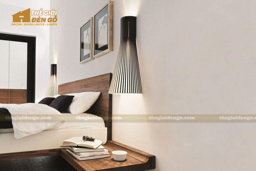 Thế Giới Đèn Gỗ - 5 kiểu đèn trang trí dành cho phòng ngủ đẹp