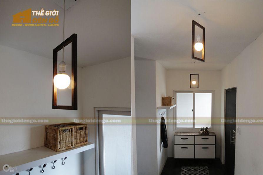 Thế Giới Đèn Gỗ - Hướng dẫn tự làm đèn gỗ thả trần cực đơn giản