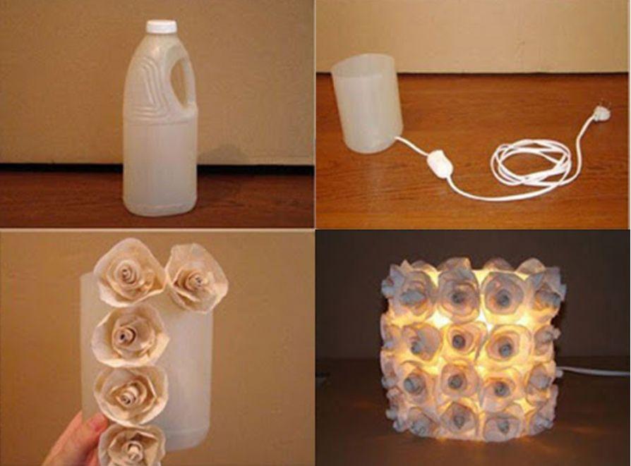 Thế Giới Đèn Gỗ - Hướng dẫn làm đèn ngủ handmade với chai nhựa